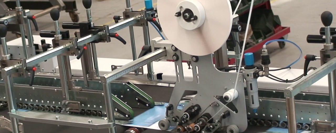 Applicatore di nastro biadesivo automatico | Speedy