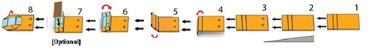 Macchina per la formazione del fondo quadro navona base